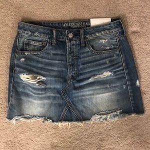 American Eagle Jean Skirt never worn!